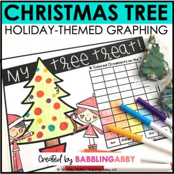 Christmas Tree Graphing Activity FREEBIE