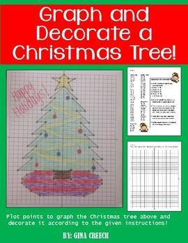Christmas Tree Coordinate Grid