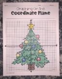 Christmas Tree (Graphing on the Coordinate Plane Mystery Picture)