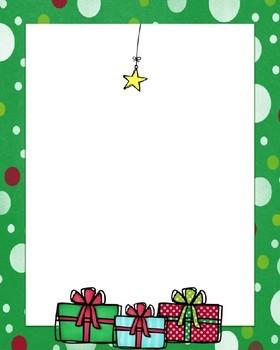 Christmas Tree Handprint Background