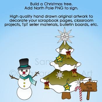 Christmas Tree & Helpers