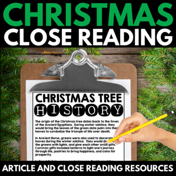 Christmas Close Reading