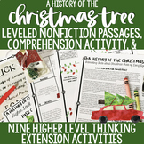 A Christmas Tree History-- Leveled Reading Comprehension A