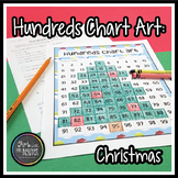 Hundreds Chart Art: Christmas Tree (Mystery Picture)