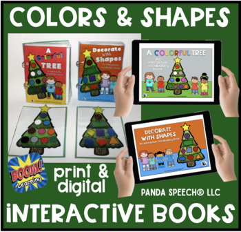 Christmas Tree Interactive Book Bundle!