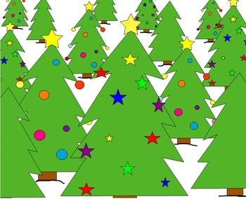"Christmas Tree ""Kooshball"" Template"