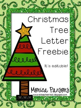 Christmas Tree Project - Tracking Trees {FREE}