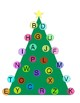 Christmas Tree Letter Match