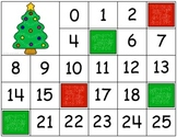 Christmas Tree Letter and Number Cover-Up Mats