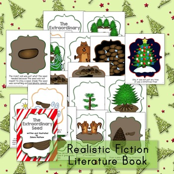 Christmas Tree Life Cycle Realistic Fiction Book with Close Reading