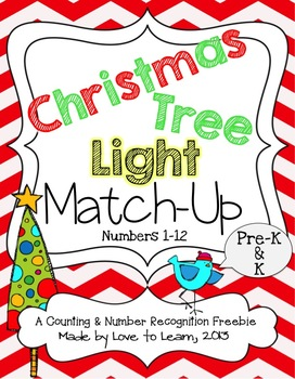 Christmas Tree Light Match-Up