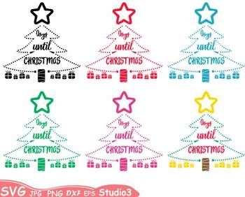 Christmas Tree Lights clipart Christian Holidays Winter Balls Ornaments -60sv