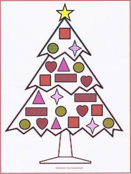 Christmas Tree Listening Assessment