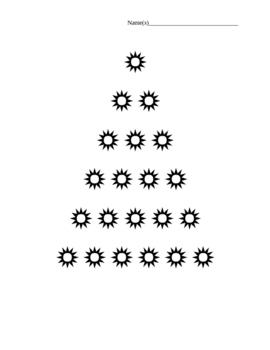 Christmas Tree Made of Words