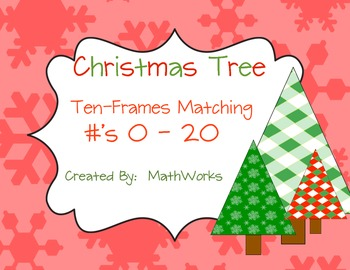 Christmas Tree Matching #'s 0-20