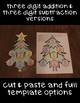 Christmas Tree Math Craftivity: Three-Digit Addition & Subtraction