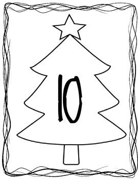 Christmas Tree Math Game