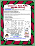 Christmas Tree - Math Problem Solving