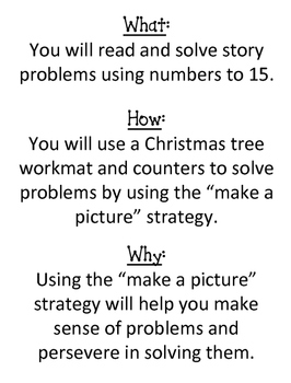 Christmas Tree - Math Problem Solving