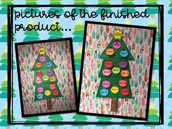Christmas Tree Math Review - Addition, Subtraction, Multiplication, & Division