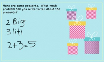 Christmas Tree Math for Interactive SmartBoards (Notebook 11)