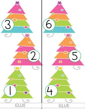 Christmas Tree Measure Me Activity