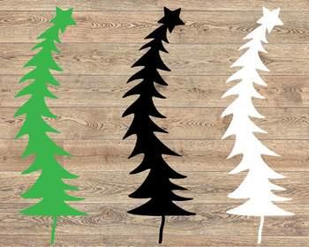 Christmas Tree Merry xmas SVG SVG santa tree 1067S