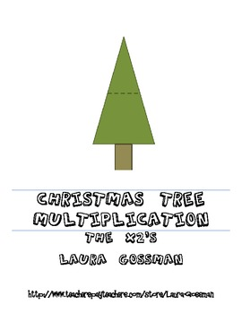 Christmas Tree Multiplication 2 Family