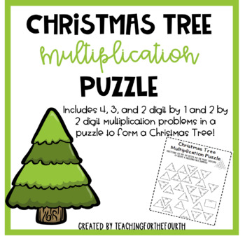 Christmas Tree Multiplication Puzzle