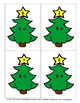 Multiplication and Division Fact Family Flashcards ~ Christmas Tree Themed