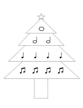 Christmas Tree Musical Notation