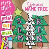Christmas Tree Name / Word Craft