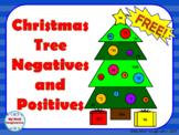 Christmas Tree Negatives and Positives - Mixed Computation