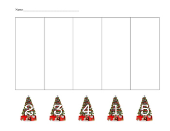 Christmas Tree Number Graph