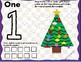 Christmas Tree Number Mats