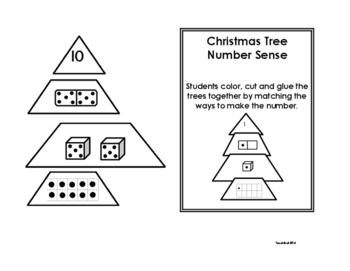 Christmas Tree Number Sense