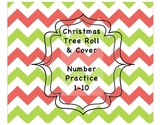 Christmas Tree Numbers 1-10 (Colour/Black & White)