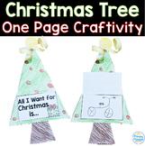 Christmas Tree: One Page Craftivity