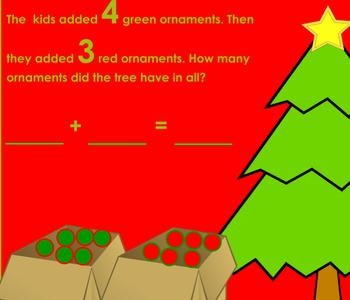 Christmas Tree Ornament Addition Flipchart