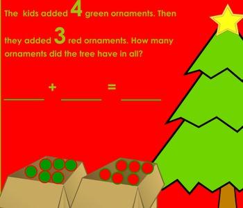 Christmas Tree Ornament Addition Flipchart