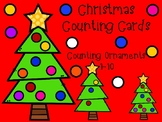 Christmas Tree Ornament  (Count and Clip Cards)