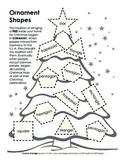 Christmas Tree Ornament Shape Drawing