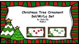 Christmas Tree Ornament Sol/Mi/La Set