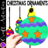 Christmas Tree Ornaments Craft or Glyph Activity