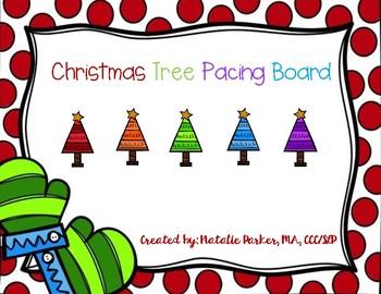 Christmas Tree Pacing Board