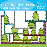 Christmas Tree Page Frames / Borders