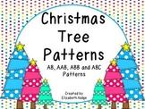 Christmas Tree Patterns- AB, AAB, ABB, ABC