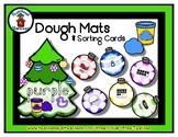 Christmas Tree  -  Play Dough Manipulative Mats - Alphabet