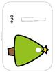 Christmas Tree Play Dough Mats - 2 sets of 10