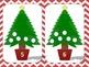 Christmas Tree Play Dough Mats - Fine Motor Skills and Num